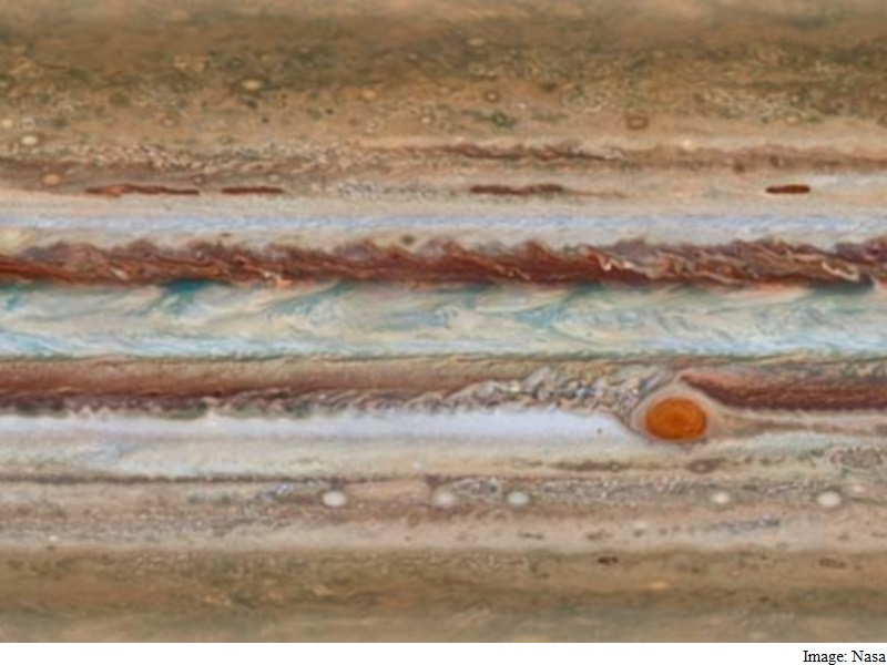 Jupiter's Great Red Spot Continues to Shrink: Nasa