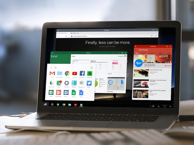 Remix OS Brings Multi-Window Android to Any Desktop