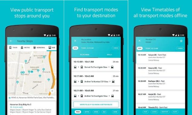 Ridlr Public Transport App Expands to New Delhi