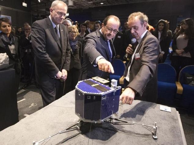 Philae Lander Sends Back Data Before Batteries Shut Down: ESA