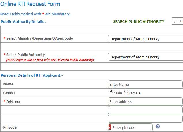 How To File An Rti Application Online Ndtv Gadgets360