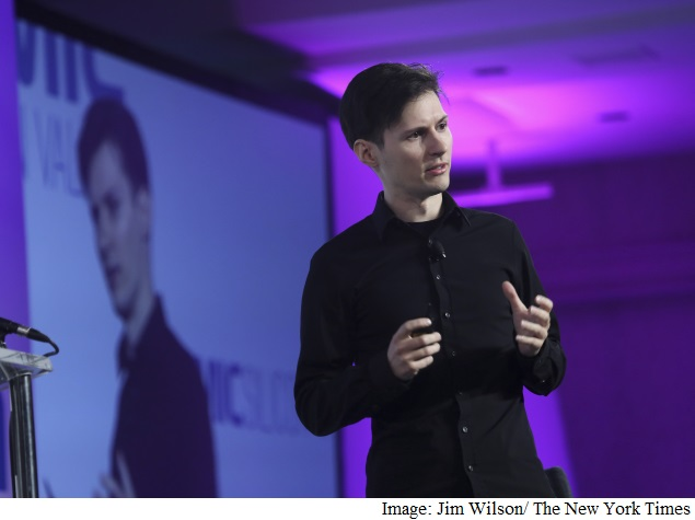 Celebrity Entrepreneur of Russian Social Media Chooses Exile
