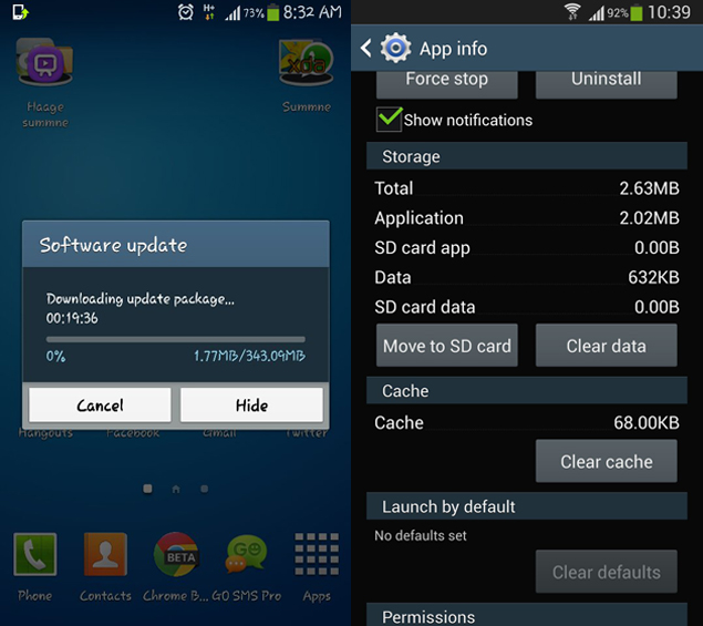 Samsung Galaxy S4 update starts rolling out in India