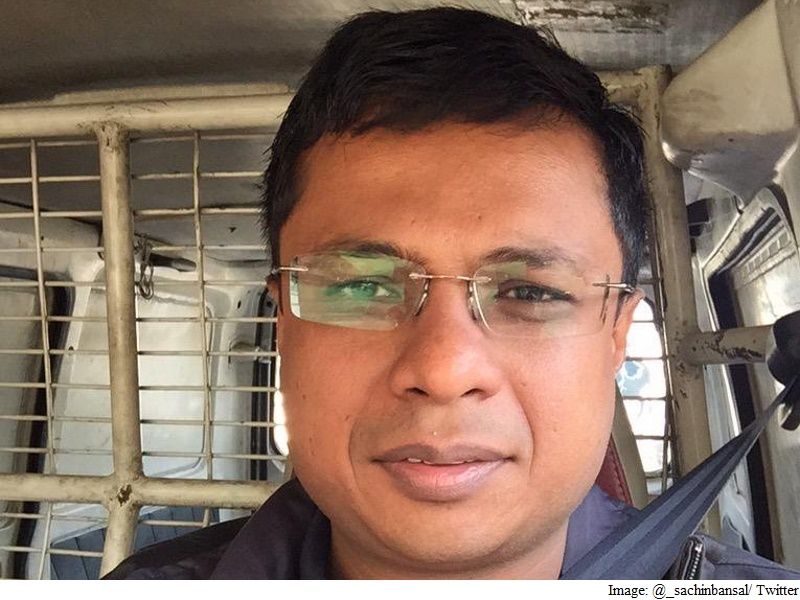 Flipkart's Sachin Bansal Says Valuation Markdowns 'Opinions' That Don't Matter