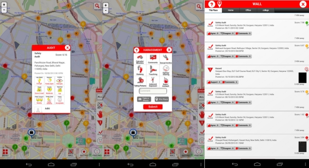 Safetipin app launched, lets users share safety details of city locations