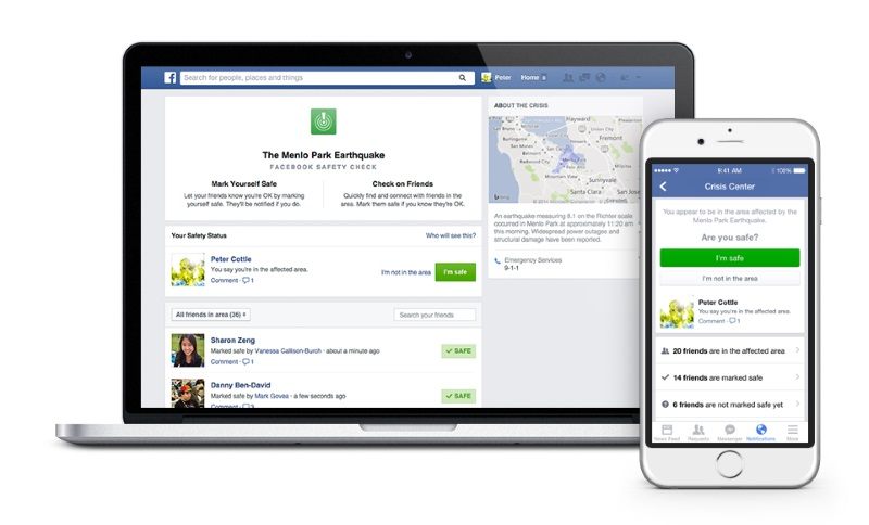After Paris Attacks, Facebook Says Safety Check to Be More Widely Available