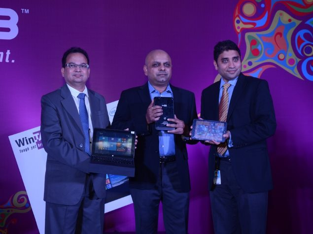 Sakri Launches Wintab Brand of Windows 8.1 Tablets in India