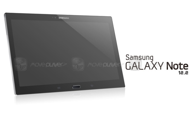 Samsung Galaxy Note 12.2 tablet's first purported image leaks online