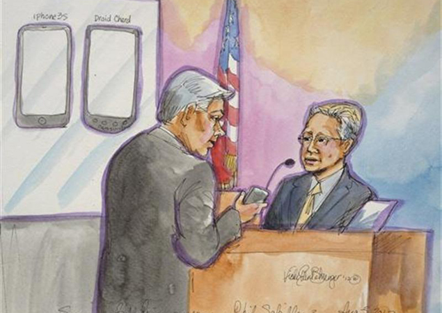 Apple wants Samsung to pay a third of its legal bills in California patent case