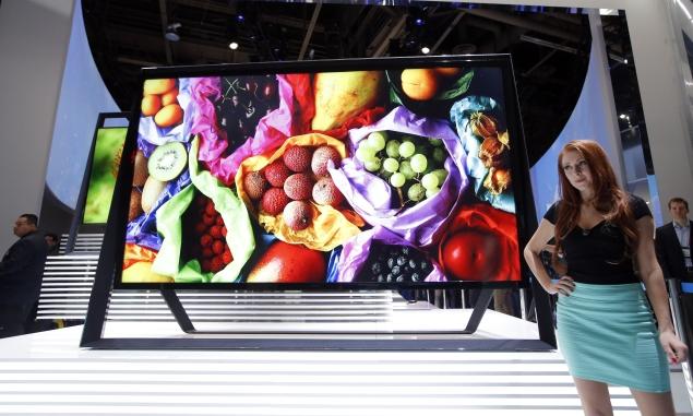 Samsung India unveils smart TVs with quad-core processor