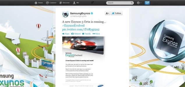 Samsung's new Exynos 5 Octa processor coming next week