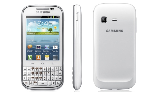 Samsung announces QWERTY Galaxy Chat with dedicated ChatON button