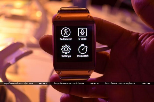 Samsung Galaxy Gear smartwatch launched
