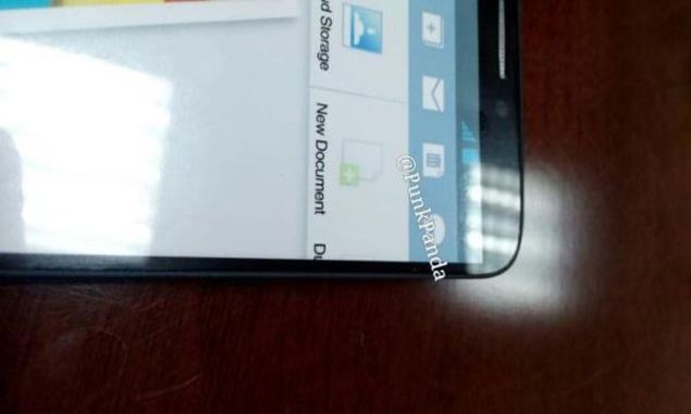 Samsung Galaxy Note III purported image spotted online