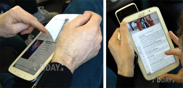 Samsung Galaxy Note 8.0 spotted in first real images