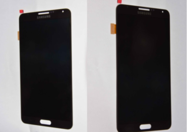 Purported images of Samsung Galaxy Note III screen surface online ahead of official launch