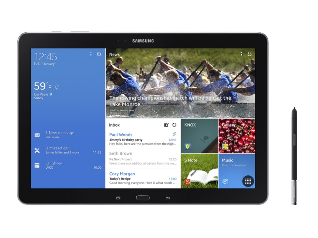 Samsung unveils Galaxy NotePRO and Galaxy TabPRO tablet series at CES 2014