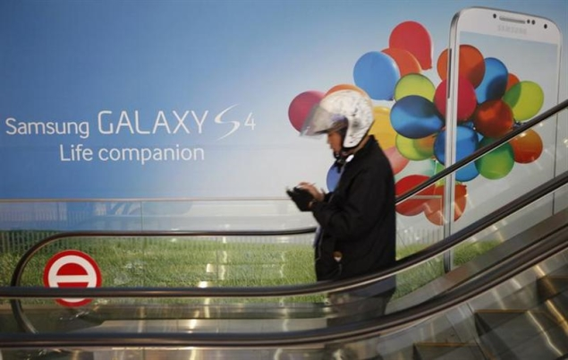 Samsung Electronics profit up before Galaxy S4 debut