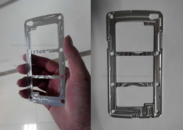 Purported Samsung Galaxy S5 images reveal metal frame, bigger display