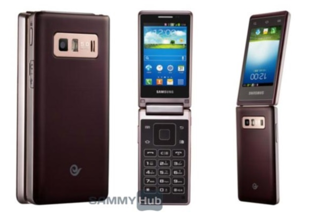 Samsung Sch W789 Hennessy Android Flip Phone Spotted Online In New