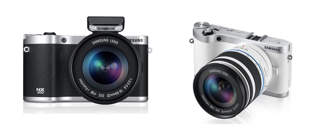 Samsung NX300 mirrorless interchangeable lens camera listed on company's website starting Rs. 48,900