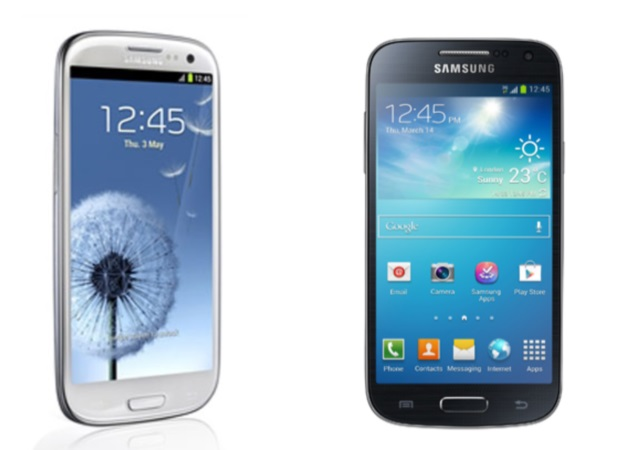 samsung galaxy s4 mini and galaxy s iii receive india