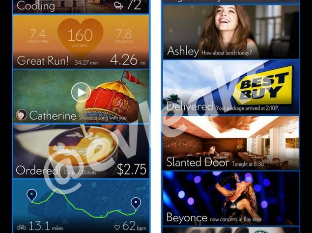 Samsung TouchWiz UI refresh leaked in screenshots showing card-like interface