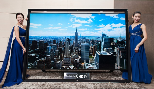Samsung starts selling 110-inch ultra HD TV for $150,000 in South Korea