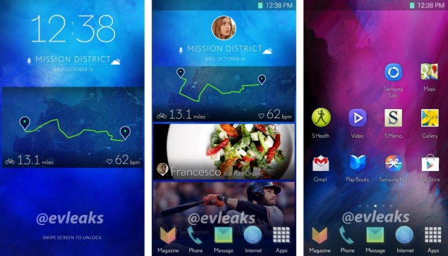 Samsung's new smartphone UI purportedly revealed in leaked screenshots