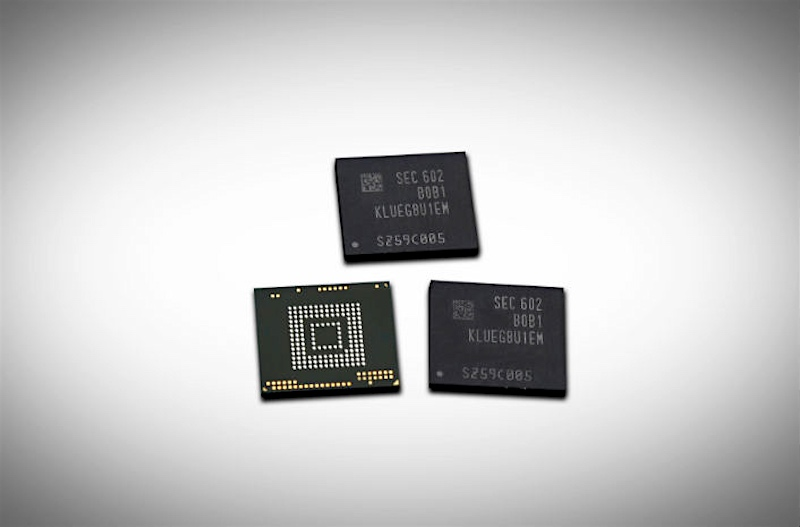 Samsung Begins Mass Production of 256GB UFS 2.0 Storage for Smartphones