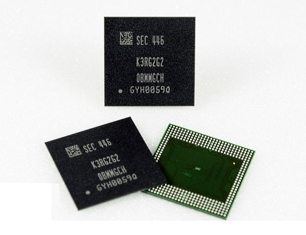 Samsung Unveils First eMMC 5.1 Storage for Smartphones and Tablets
