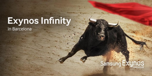 Samsung teases new Exynos Infinity processor for MWC 2014 unveiling