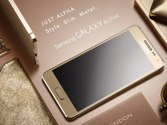 Samsung Galaxy Alpha With 4.7-Inch Display and Metal Frame Launched