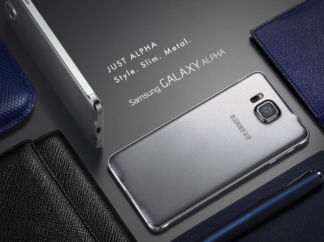 Samsung Galaxy Alpha Gets a 'Silver' Variant in India