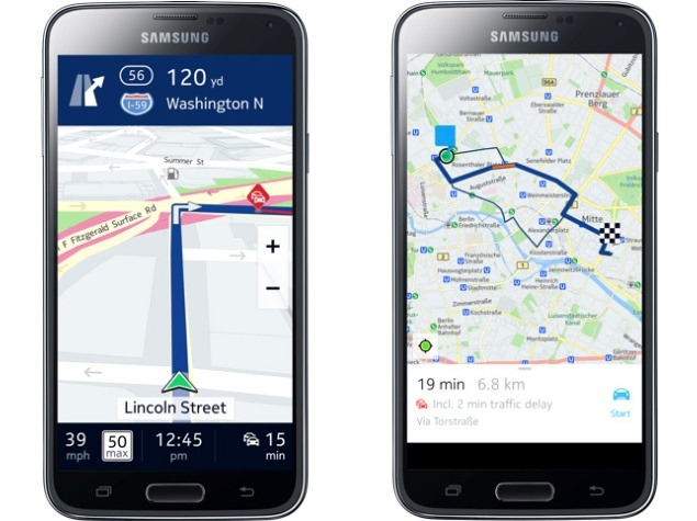 Nokia Unveils Exclusive Here (Beta) App for Samsung Galaxy Devices