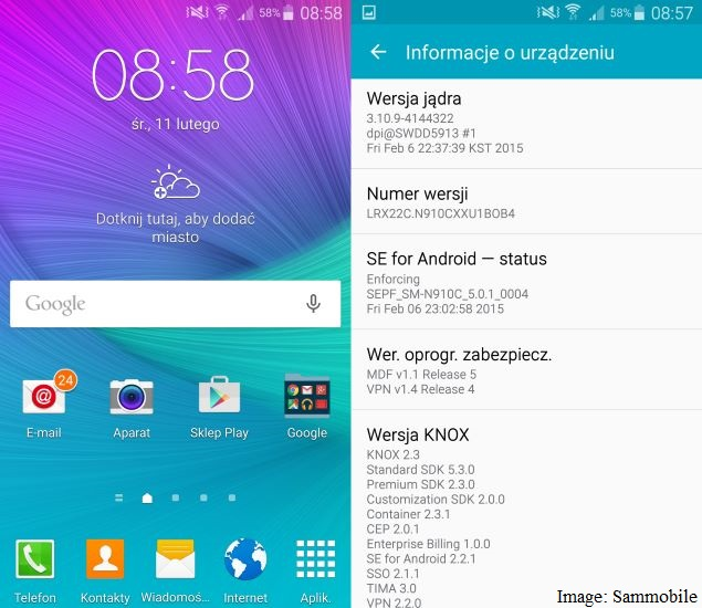 Android 5.0 Lollipop Update Rollout Begins for Samsung Galaxy Note 4: Reports