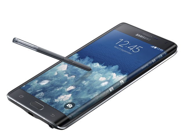 Samsung Galaxy Note Edge a 'Limited Edition Concept'