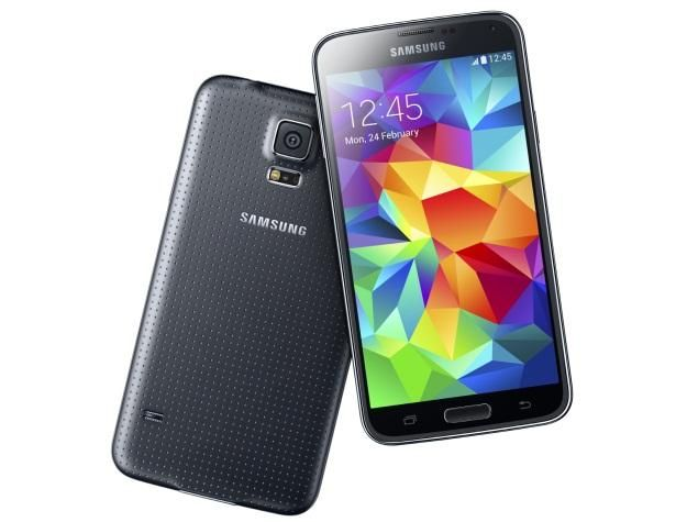 Samsung Galaxy S5 with fingerprint scanner, heart rate sensor launched