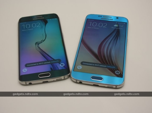Opprinnelig Samsung Galaxy S6, Galaxy S6 Edge Price in India Confirmed AE-93