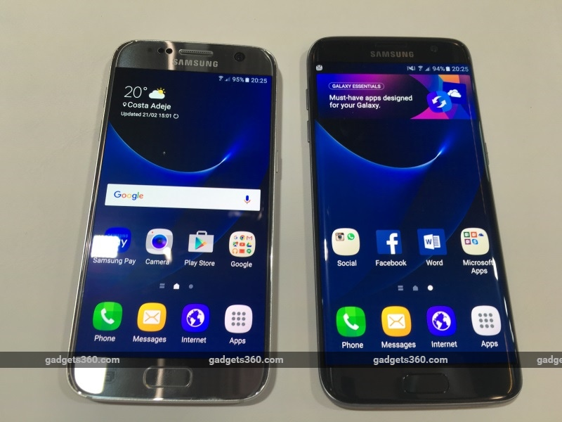 samsung galaxy s7 galaxy s7 edge launched in india price. Black Bedroom Furniture Sets. Home Design Ideas