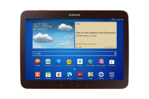 Samsung Galaxy Tab 3 10.1 education tablet announced, due in April