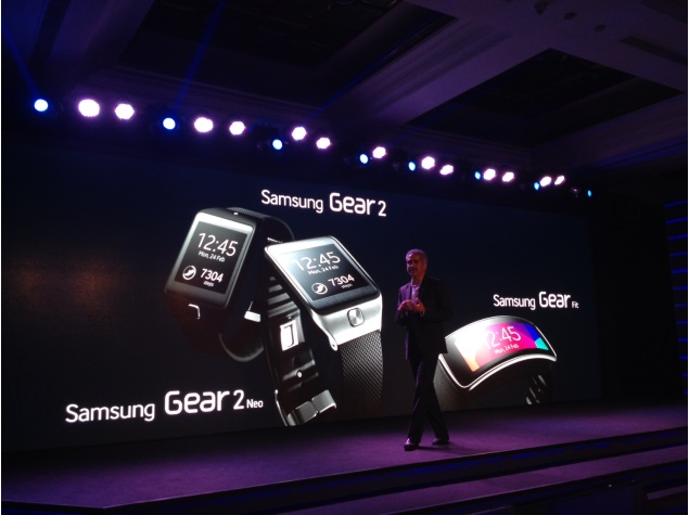 Samsung Gear Fit, Gear 2 and Gear 2 Neo now officially available in India