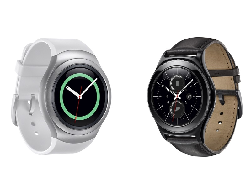 Samsung Gear S2 Circular Tizen-Based Smartwatch Launched