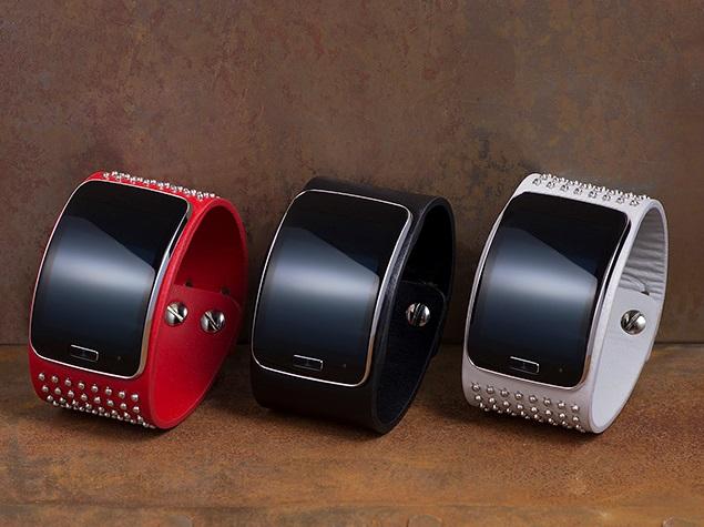 Samsung Gear S to Get Designer Bands by Diesel Black Gold