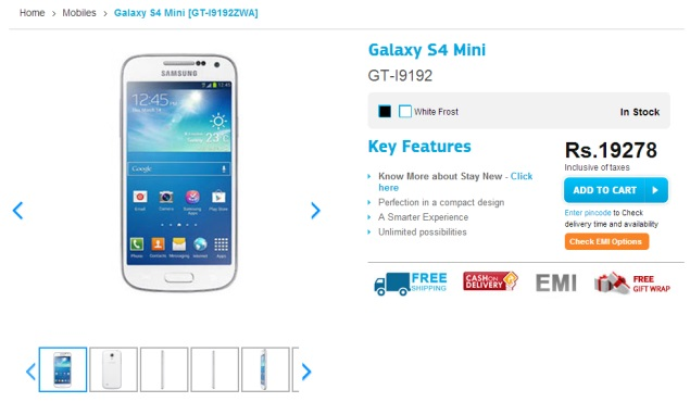 Samsung Galaxy S4 and Galaxy S4 Mini Receive Price Cuts in India