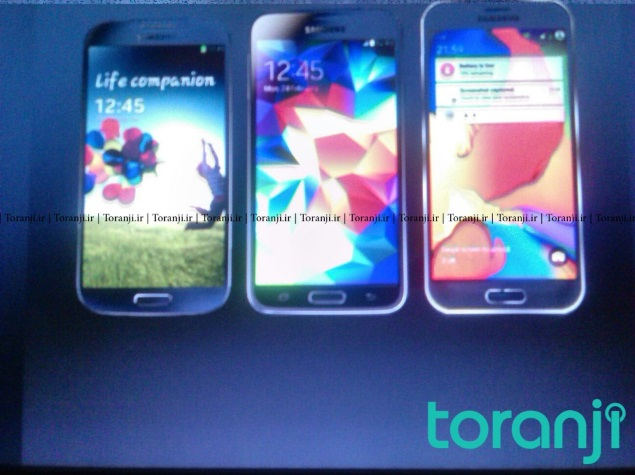 Samsung Galaxy S6 Allegedly Pictured; Compared With Galaxy S4, Galaxy S5