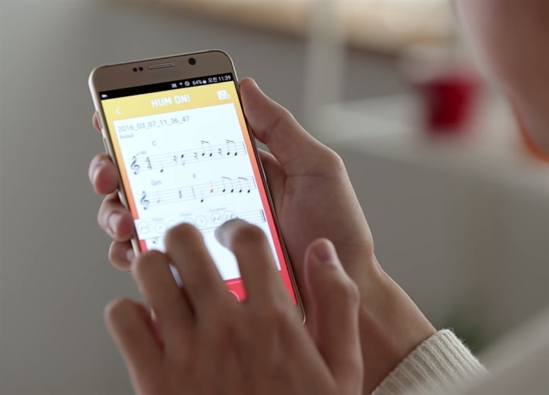 Samsung's New App Turns Your Hums Into Music