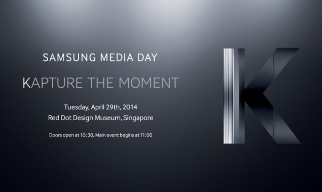 Samsung Galaxy S5 Zoom launch expected at April 29 'Kapture The Moment' event