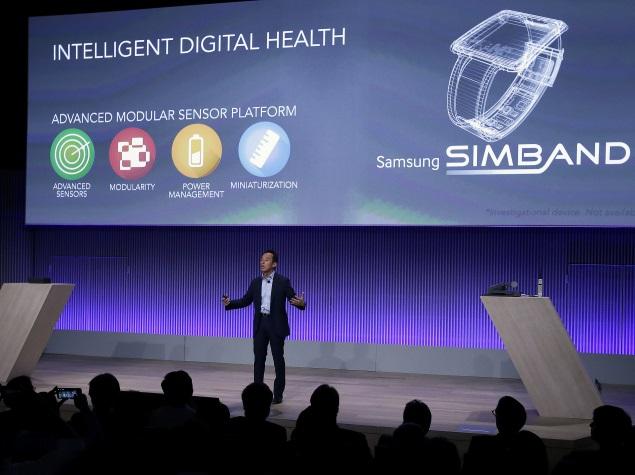 Samsung Unveils Simband Wristband and a Healthcare Platform