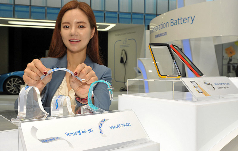 Samsung, LG Unveil Flexible Batteries That Could Revolutionise Wearables